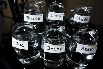bouquet-jars