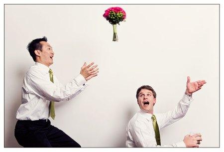 My bouquet is soaring!