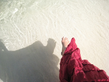 My toesies sure loved that powdery white sand.