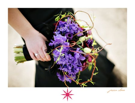 A couture bouquet made for Trista Lerit for her and Doug's anniversary shoot.