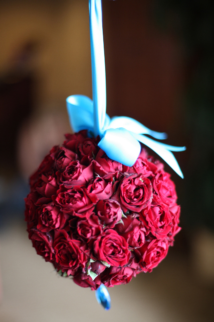 A little something for the flower girl to hold.
