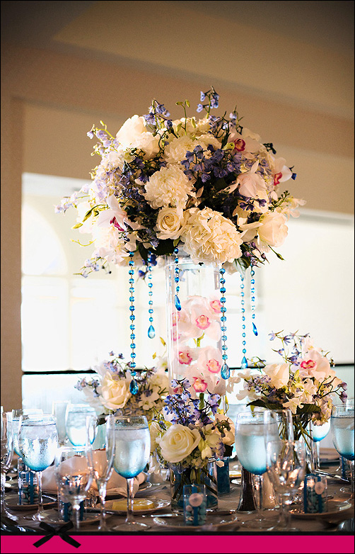 Fashion female and have fun tall wedding centerpieces